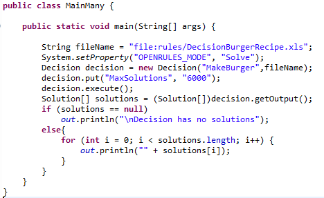 BurgerManySolutions