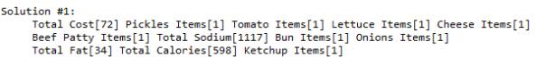 BurgerOneSolution